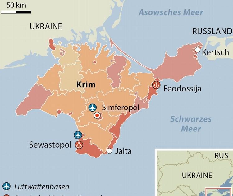 Brücke Krim Russland