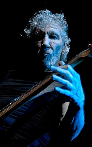 Roger Waters in der Stadthalle.