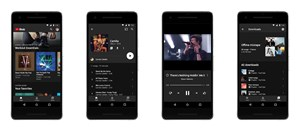 Die neue Youtube Music App.