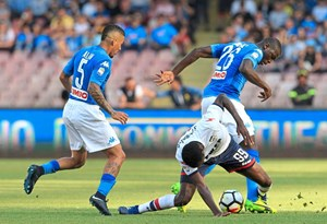 Napoli schickte Crotone in die Serie B.