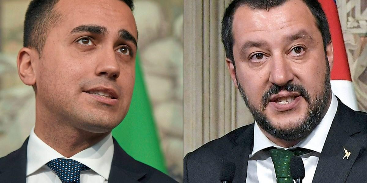 """Fünf-Sterne-Chef Di Maio: """"Werden EU-Verträge in Frage stellen"""""""