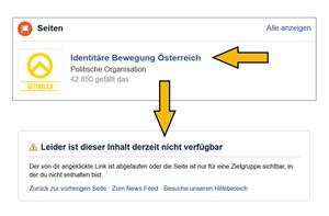 Rechtsextreme Identitäre von Facebook und Instagram verbannt