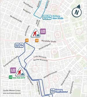 Wiener Linien Wollen 13a Busstrecke Notfalls Teilen Mobilität In