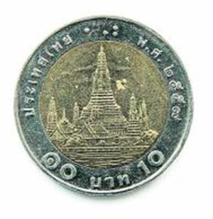 Verwechslungsgefahr Warum Die Thailändische Zehn Baht Münze Für
