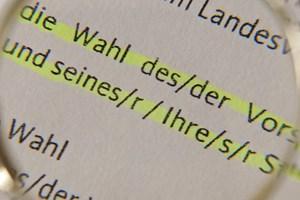 Deutsche Rechtschreibung Kommt Das Gender Sternchen In Den Duden