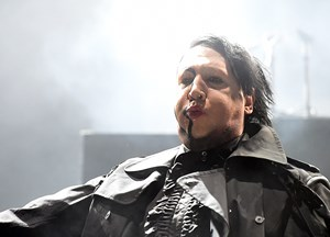 "Marilyn Manson gab sich am Nova Rock ""part austrian""."