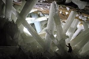 Die größten Kristalle der Welt könnten allmählich erodieren