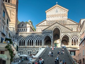 Der Dom Sant'Andrea in Amalfi.