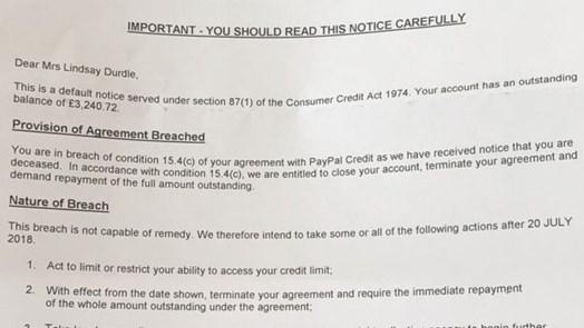 Webmix: Tod verstößt gegen AGB: Paypal schockiert mit Brief an ...