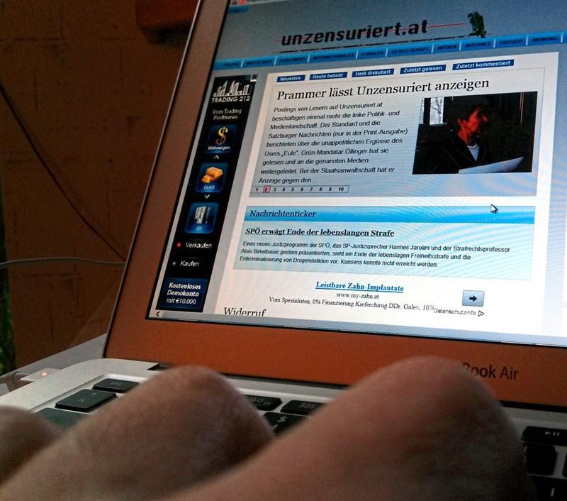 Fpö Nahe Webseite Unzensuriertat Jetzt Auch Auf Englisch