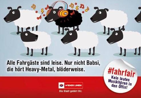 Wiener Linien Das Schwarze Schaf Isst Döner Werbung Derstandard