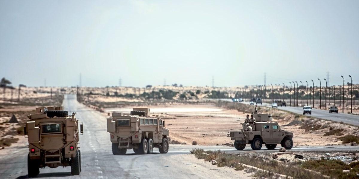 Agyptische Sicherheitskrafte Toteten Zwolf Jihadisten Agypten