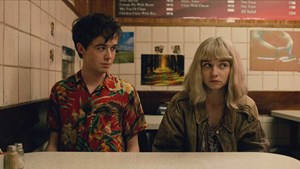 "Jessica Barden und Alex Lawther in ""The End of the Fucking World""."