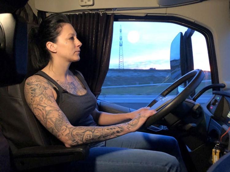 Trucker Babe Jana