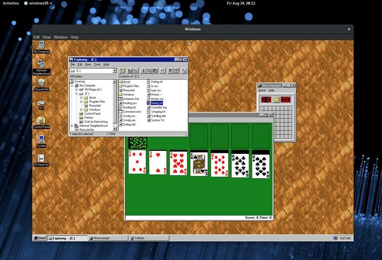 Windows 95 gibt ein Comeback – als App