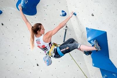 090cf952827fd3 In Innsbruck wird bei einer Kletter-WM erstmals in vier Disziplinen um  Medaillen gekraxelt. Den Anfang macht am Wochenende der Vorstieg.