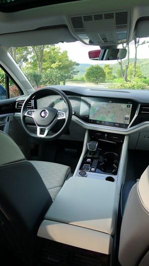 AutoMobil: VW Touareg: Aufwartung zwischen Weimar und Wartburg ...