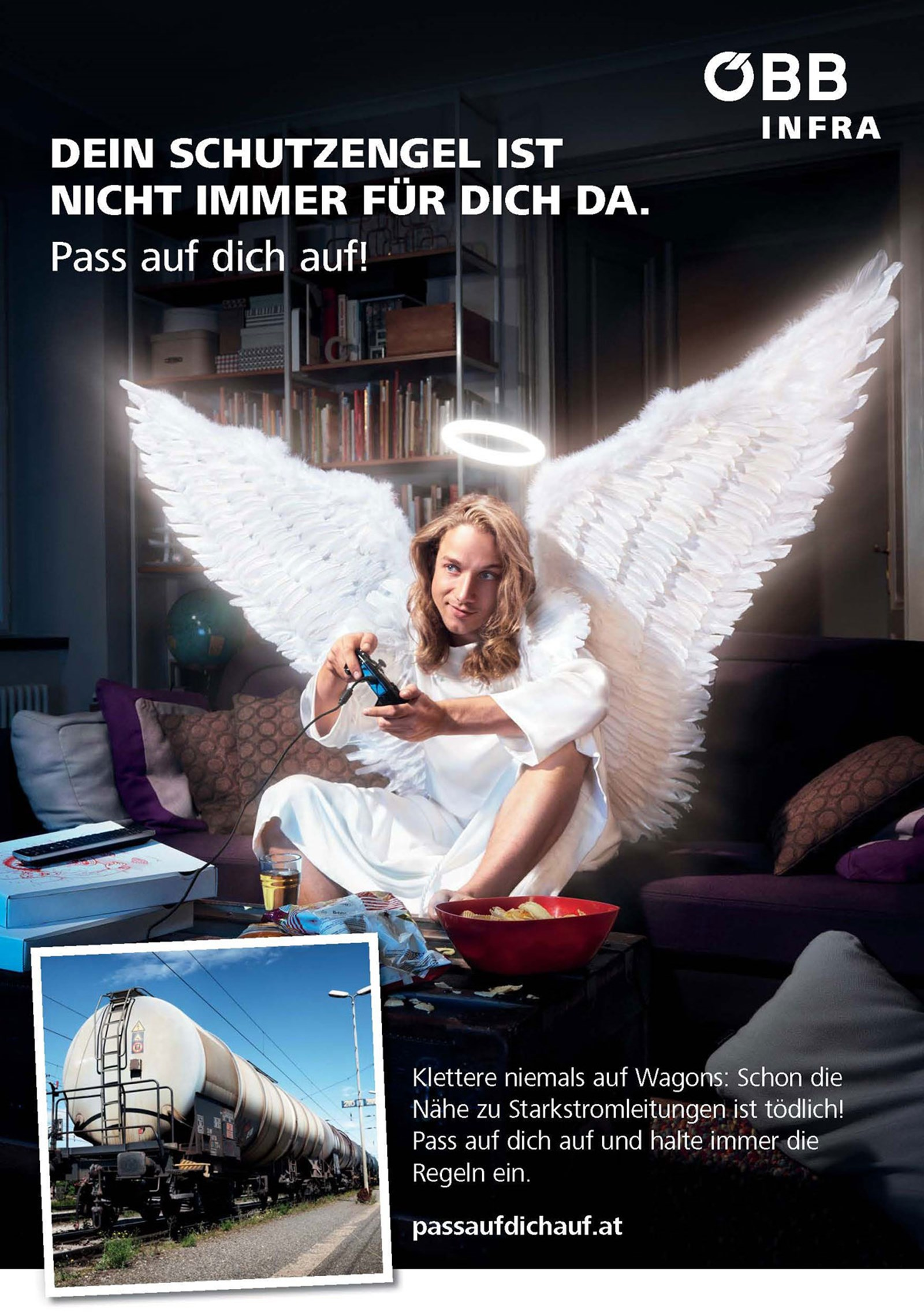 ÖBB-Kampagnenstart: Pass auf dich auf - Werbung