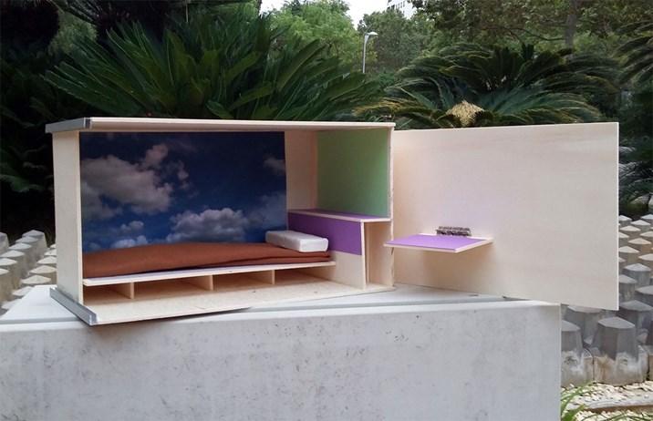 wohnen auf 2 4 quadratmetern sorgt in barcelona f r aufregung wohnbau international. Black Bedroom Furniture Sets. Home Design Ideas