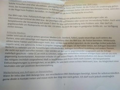 Innenministerium Beschränkt Infos Für Kritische Medien