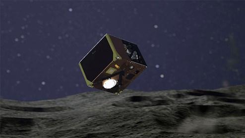 Forschungssonde Mascot landet erfolgreich auf dem Asteroiden Ryugu
