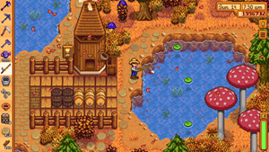 "Screenshots der iOS-Version von ""Stardew Valley""."