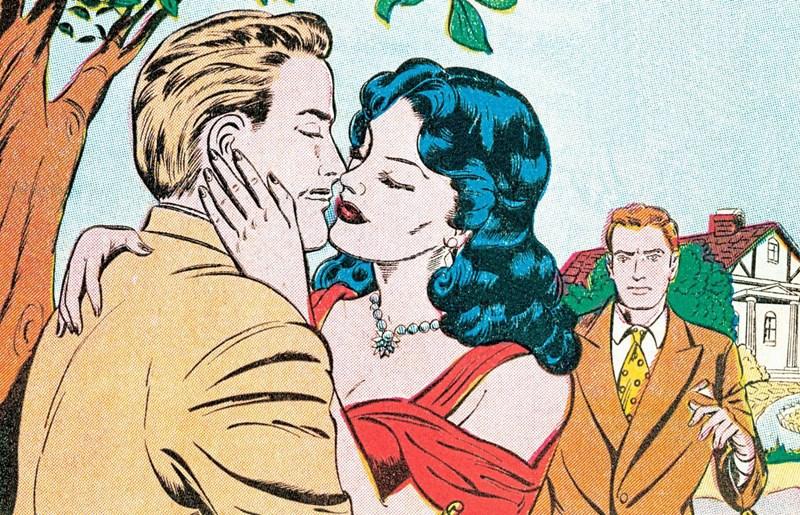 Online-Dating-Rituale der amerikanischen Männerfalke