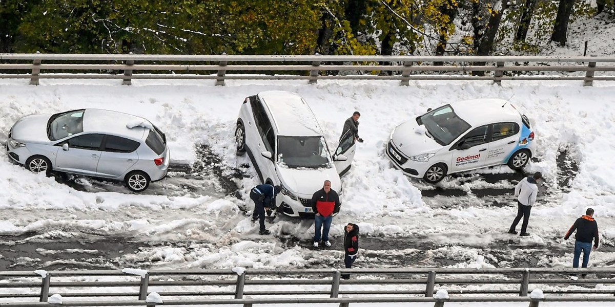 Schnee Frankreich Aktuell
