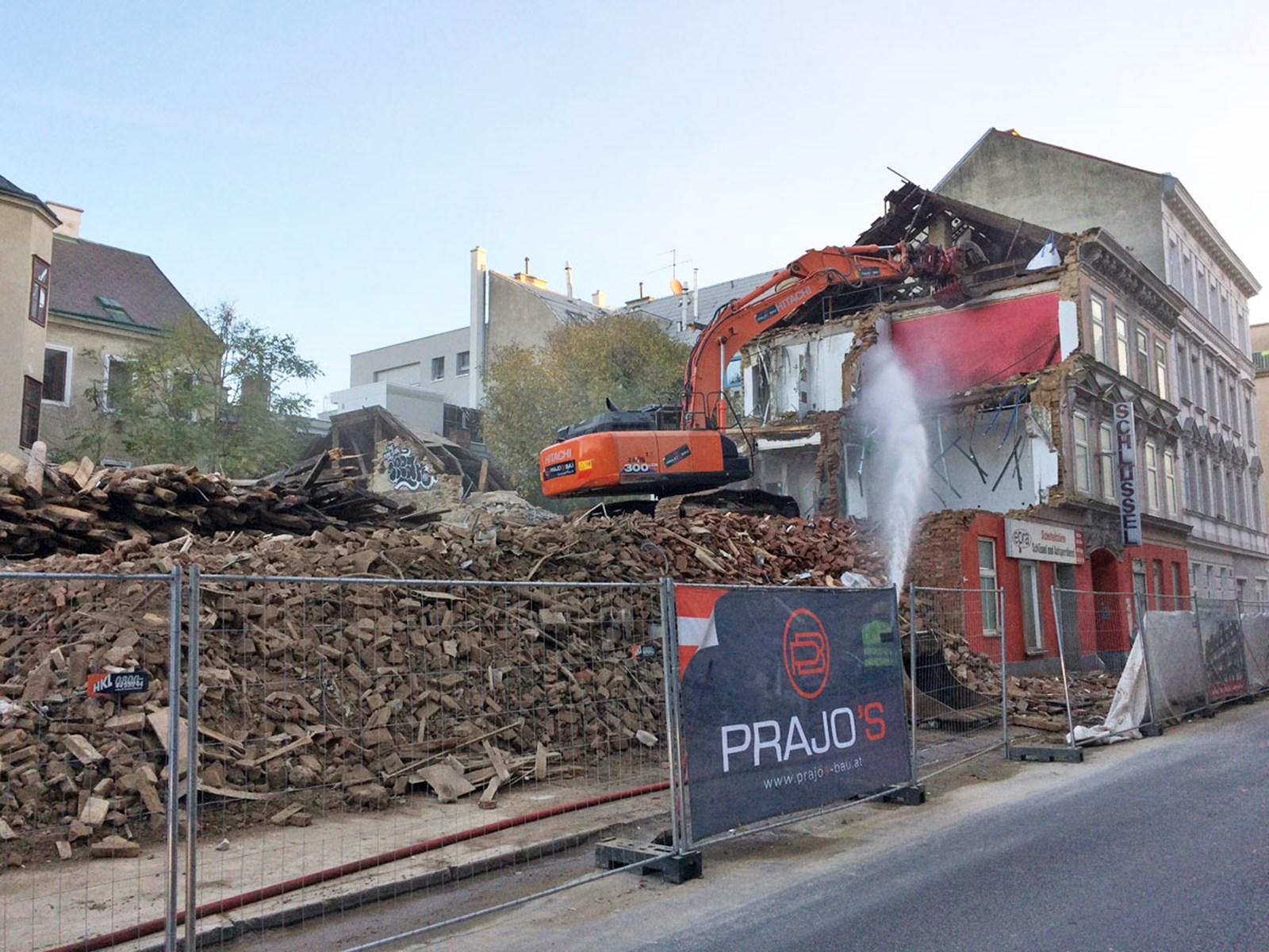 Abbrüche in Wien: Erste Häuser dürfen weiter abgerissen werden