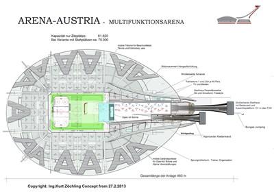 Skispringen Im Prater Pläne Für Megastadion In Wien Sportpolitik