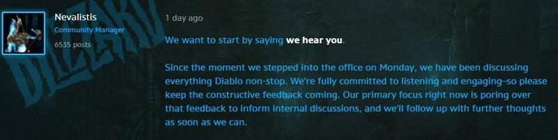 Nach Diablo Immortal Shitstorm Blizzard Kundigt Ankundigung An