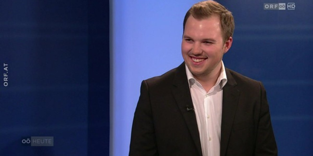 22 Jähriger övp Politiker Grüneis Gewann Bürgermeisterwahl