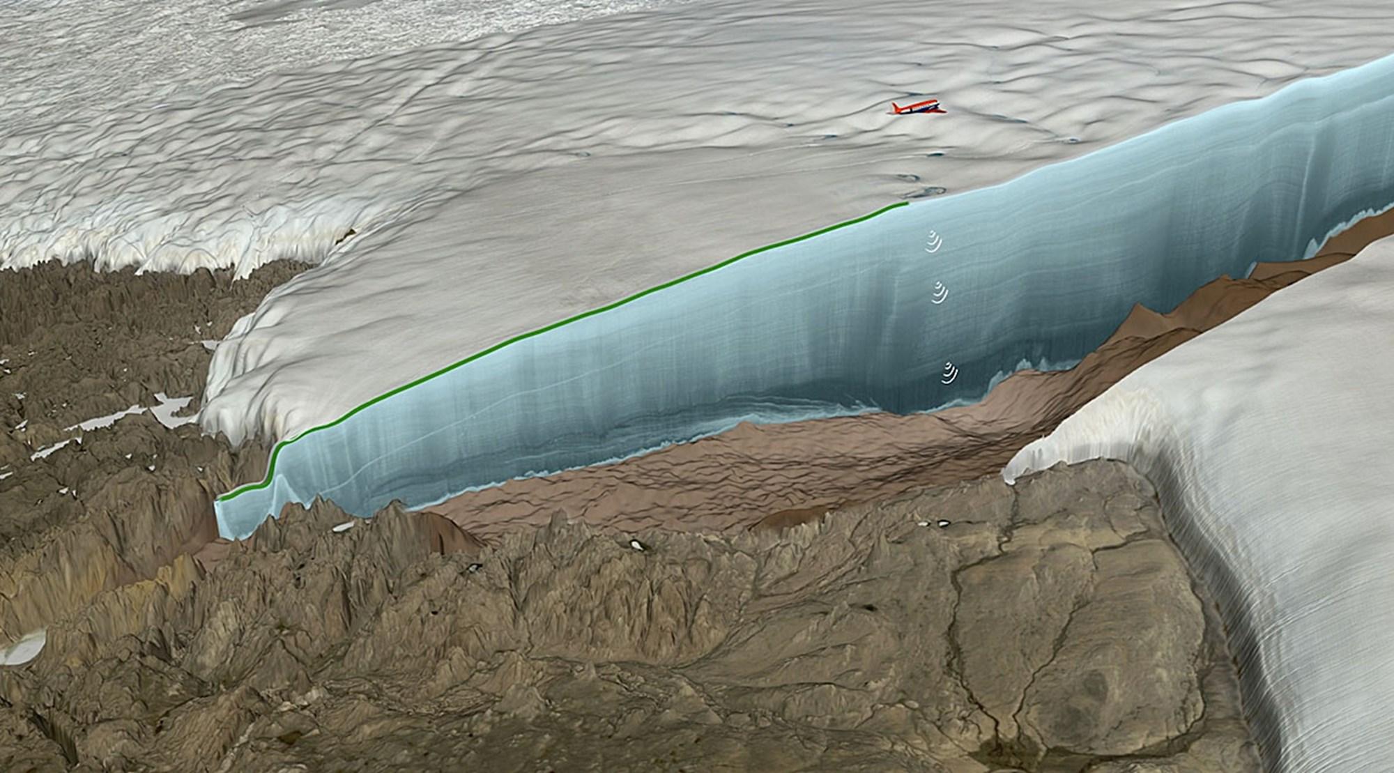 Spuren eines Meteoriteneinschlags, der die Nordhalbkugel erschütterte