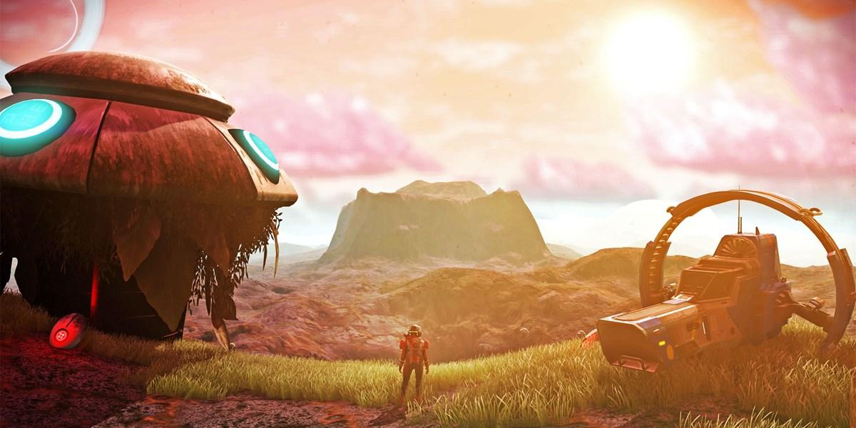 Games No Mans Sky Visions Erschienen Riesen Update Belebt Den
