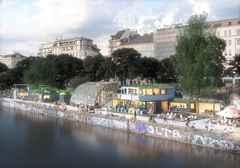Vienna Waterfront Millioneninvestition Am Donaukanal Geplant