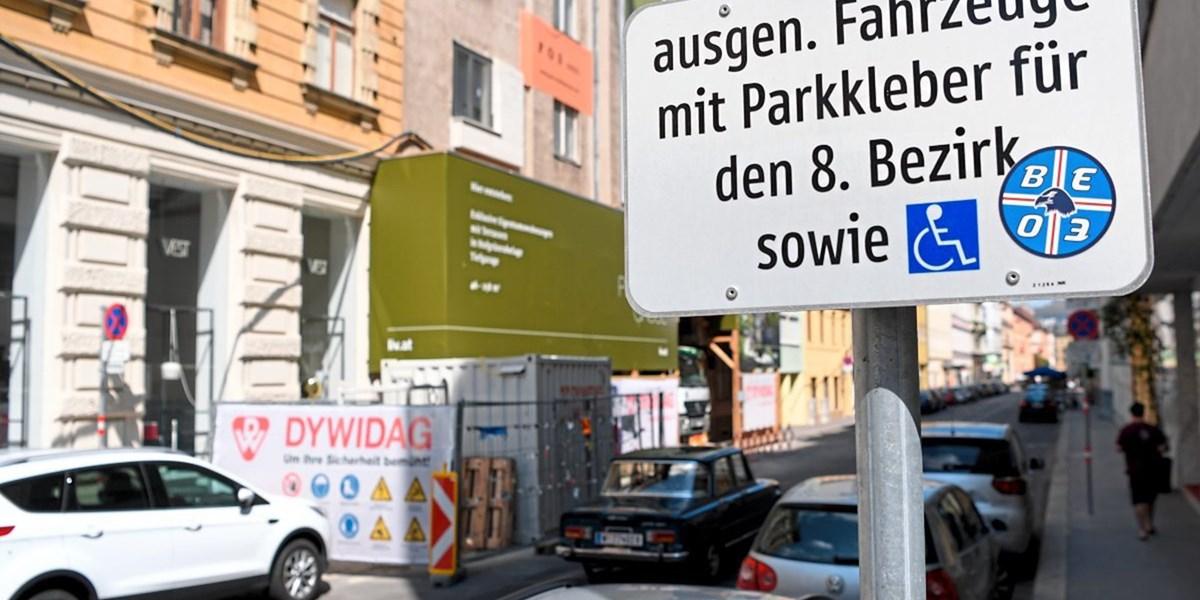 Streit Um Wiener Anrainerparkplätze Wien Derstandardat Panorama