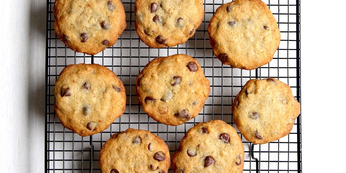 Die originalen Chocolate Chip Cookies