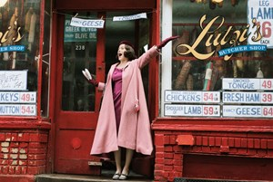 "Rachel Brosnahan ist ""The Marvelous Mrs. Maisel""."