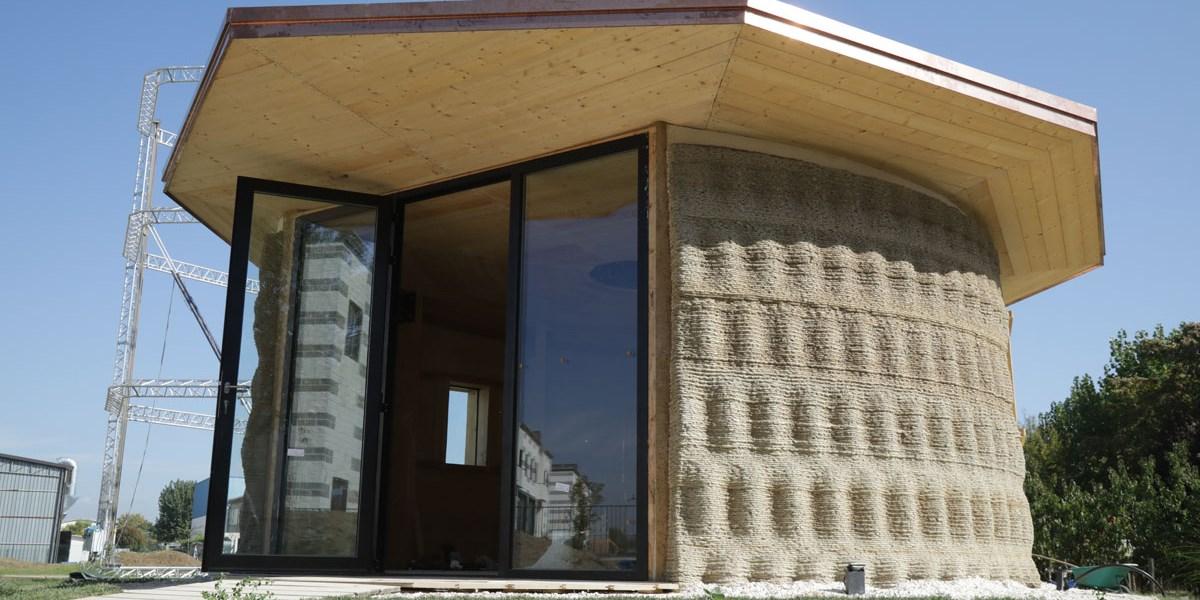 haus aus reis und lehm aus dem 3d drucker architektur stadt immobilien. Black Bedroom Furniture Sets. Home Design Ideas