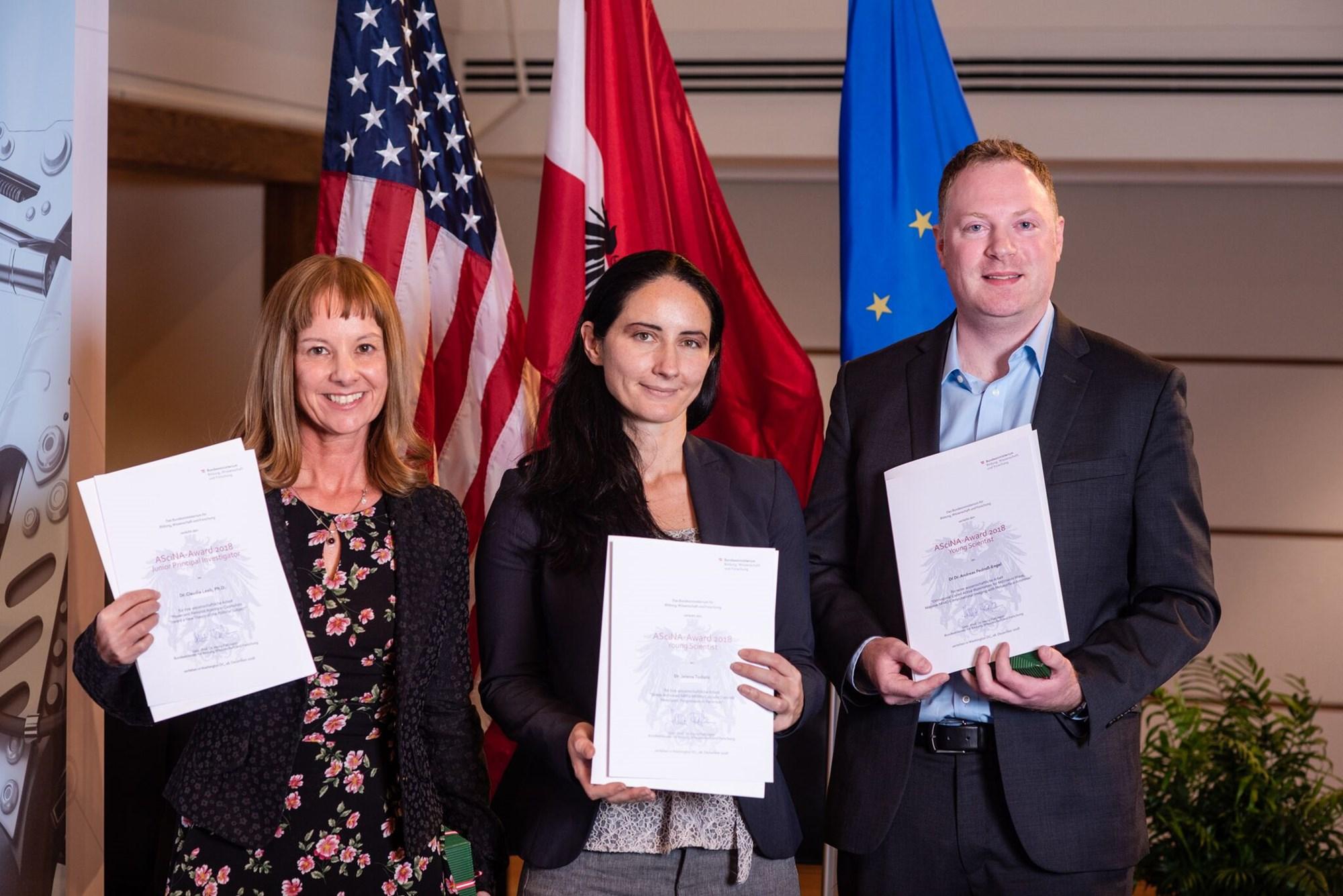Ascina-Award an die Analytikerin von Machtstrukturen