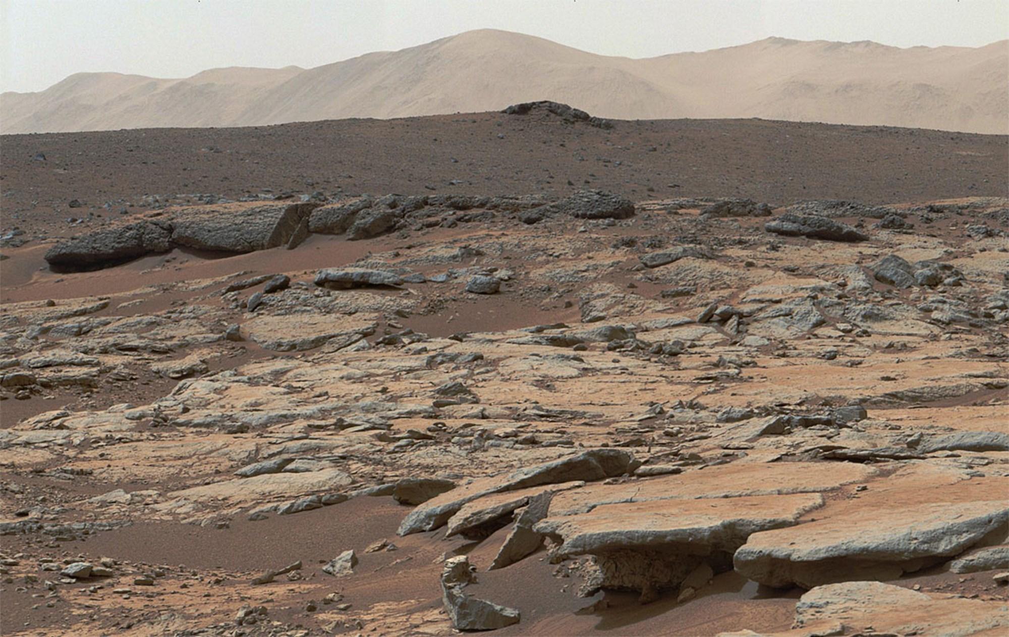 Forscher rätseln: Methan verschwindet aus der Marsatmosphäre