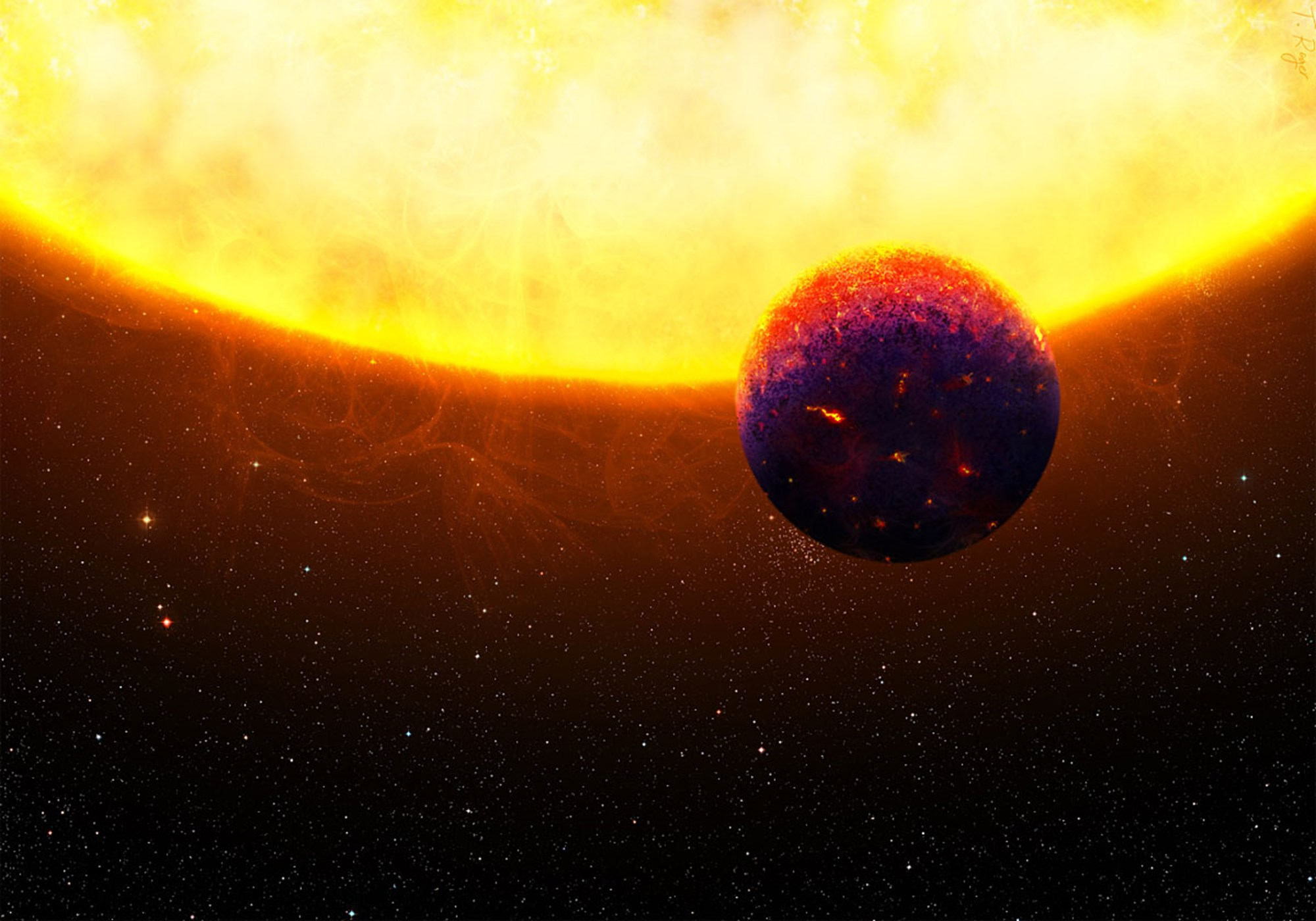 Exotische Welten aus Saphiren und Rubinen entdeckt