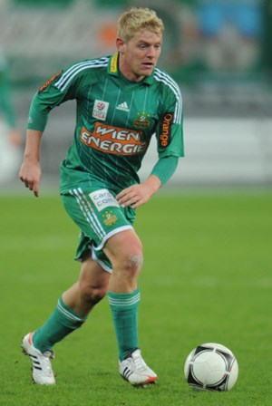 Thomas Prager im Dress des SK Rapid Wien.