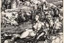 albrecht dürer (nürnberg 1471-1528 ebda.), das meerwunder, um 1498, kupferstich © kupferstichkabinett der akademie der bildenden künste wien.