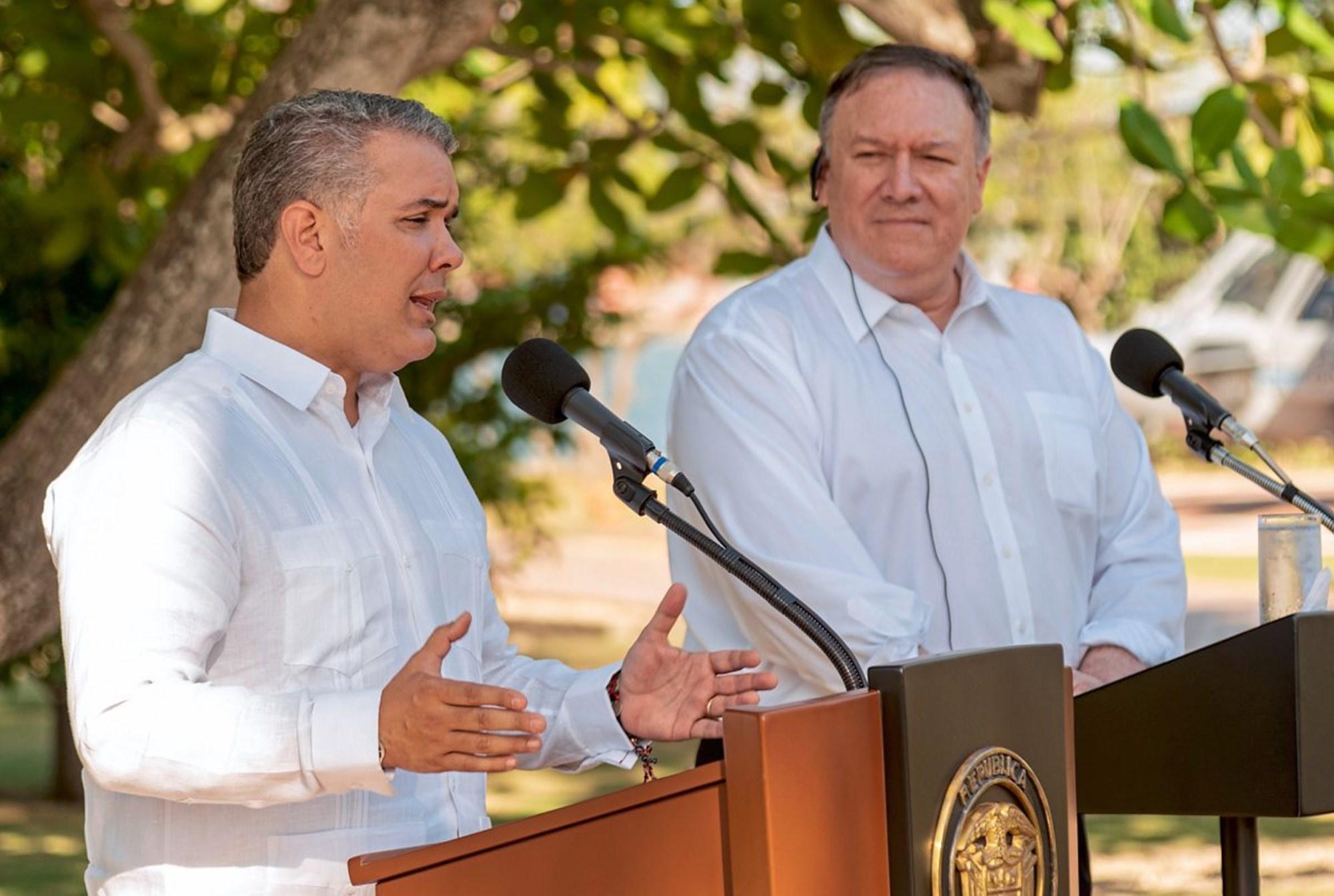 """USA und Kolumbien für """"Wiederherstellung"""" von Demokratie in Venezuela"""