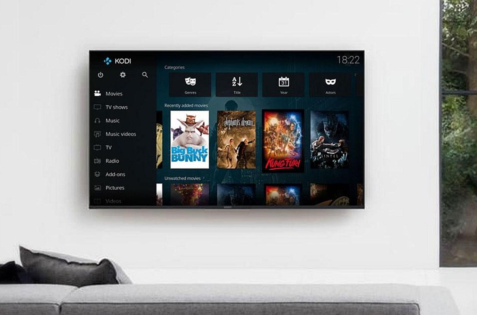 Sony-Fernseher blockieren offenbar Mediacenter Kodi