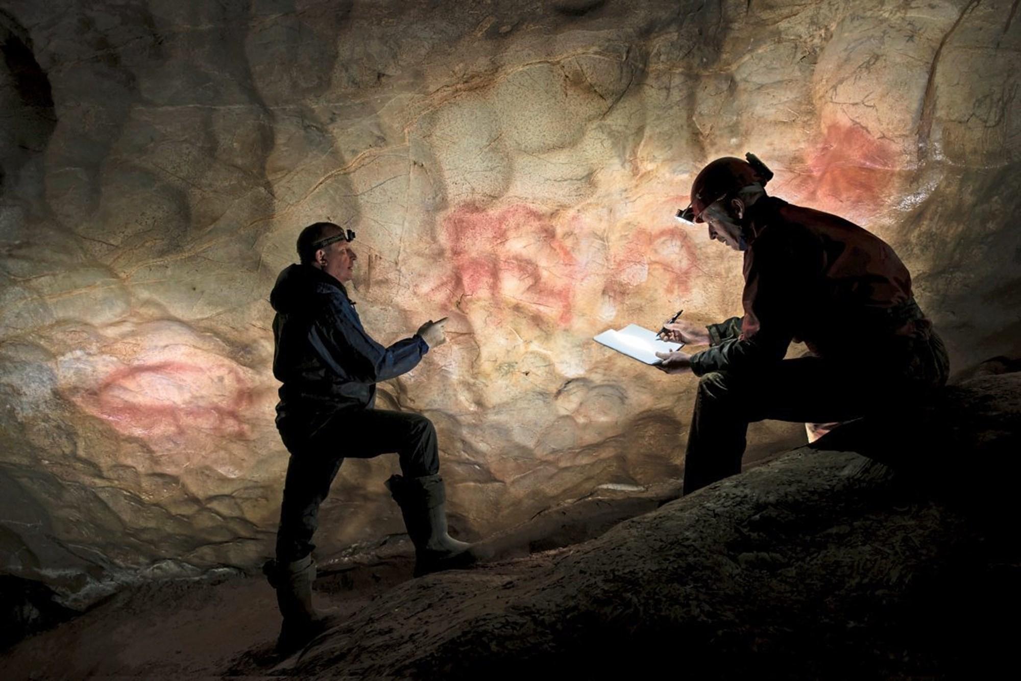 Steinzeitliche Höhlenmalereien stellen Forscher vor Rätsel