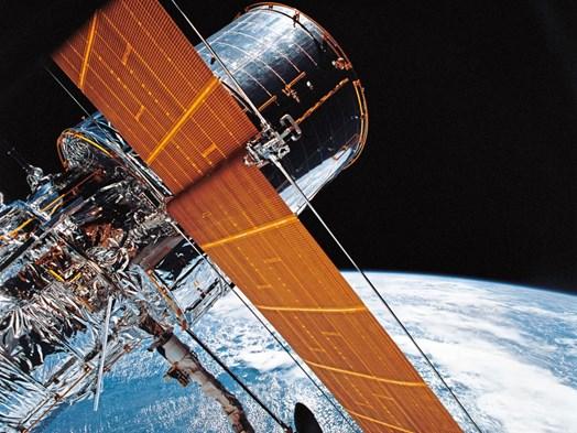 Turbulente zeiten: hubble teleskop: kamera defekt rekord quasar