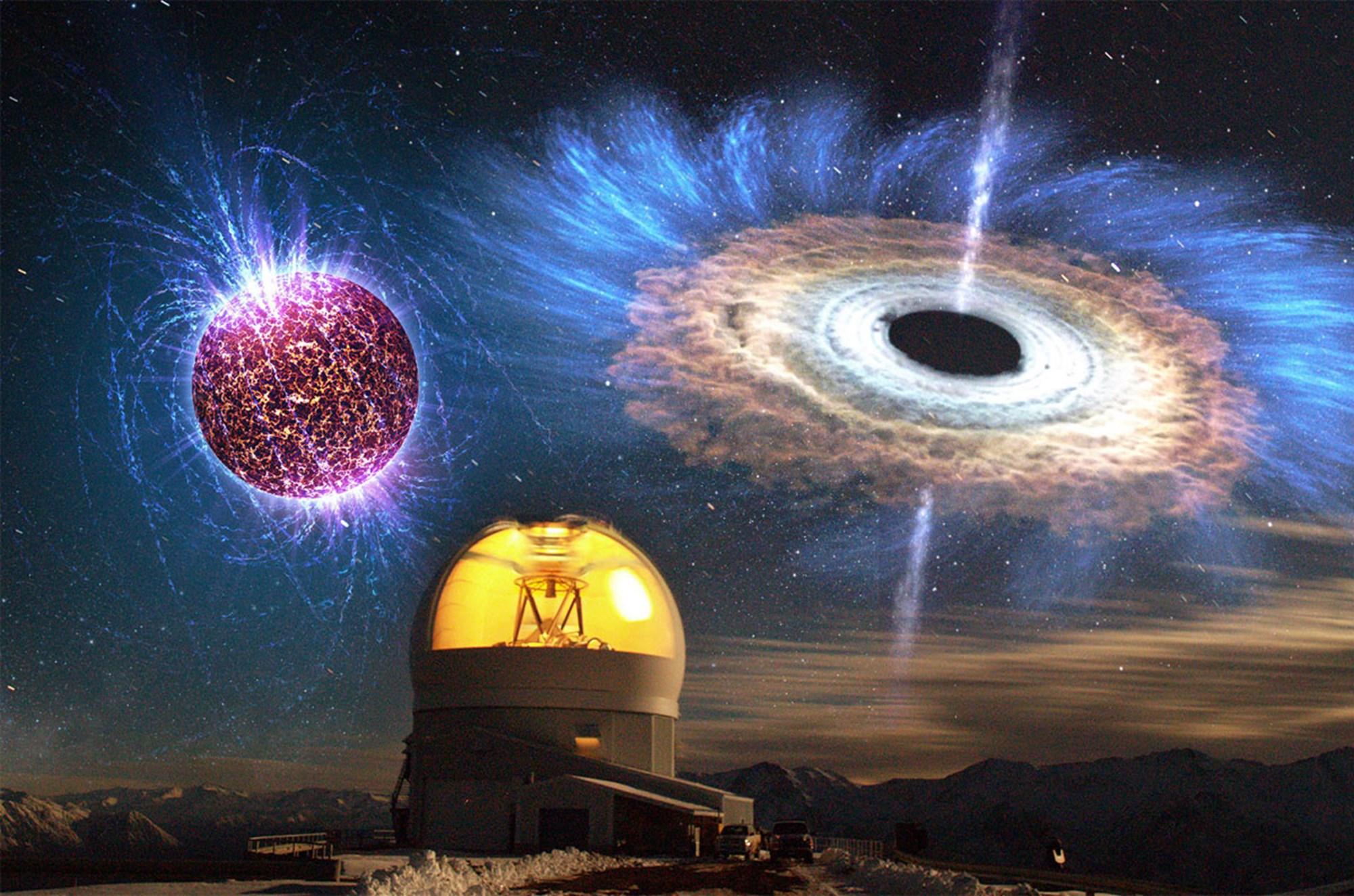 Astronomen rätseln über gewaltige Explosion in ferner Galaxie