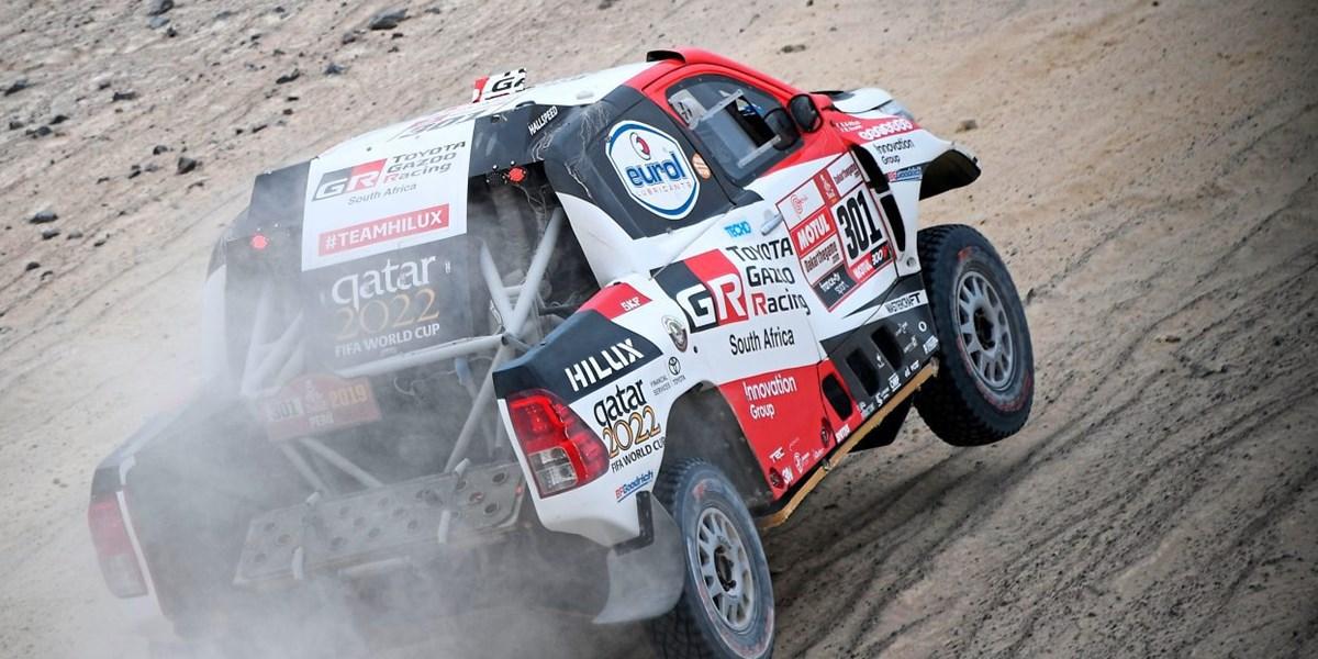 Nasser Al-Attiyah steiert auf dritten Dakar-Sieg zu
